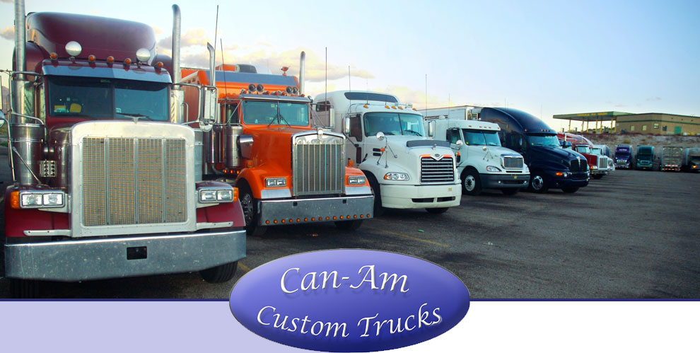 Products and Services | Can-Am Custom Trucks, Inc.